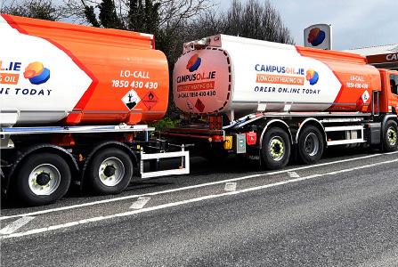 FULL-TIME OIL TANKER DRIVER (DUBLIN CITY)
